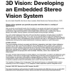 3D Vision: Developing an Embedded Stereo-Vision System
