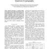 802.11i Encryption Key Distribution Using Quantum Cryptography