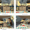 Multiperspective Modeling and Rendering Using General Linear Cameras