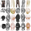 Dense 3D Motion Capture for Human Faces