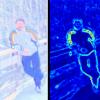 Implicit Color Segmentation Features for Pedestrian Detection