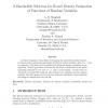 A bandwidth selection for kernel density estimation of functions of random variables