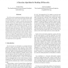 A Bayesian Algorithm for Reading 1D Barcodes