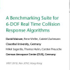 A benchmarking suite for 6-DOF real time collision response algorithms
