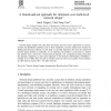 A branch-and-cut approach for minimum cost multi-level network design