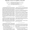 A Business Model Framework for Dynamic Spectrum Access in Cognitive Networks
