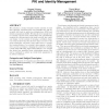 A calculus of trust and its application to PKI and identity management