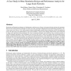 A Case Study in Meta-Simulation Design and Performance Analysis for Large-Scale Networks