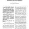 A Chaos Theoretic Analysis of Motion and Illumination in Video Sequences