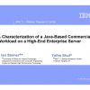 A characterization of a java-based commercial workload on a high-end enterprise server