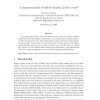 A characterization of infinite smooth Lyndon words