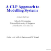 A CLP Approach to Modelling Systems
