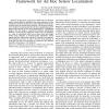 A Collaborative Quasi-Linear Programming Framework for Ad Hoc Sensor Localization