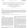 A comparison of epidemic algorithms in wireless sensor networks