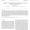 A comparison of neural network and multiple regression analysis in modeling capital structure
