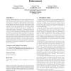 A compositional framework for access control policies enforcement