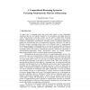 A Compositional Reasoning System for Executing Nonmonotonic Theories of Reasoning