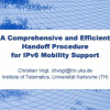A Comprehensive and Efficient Handoff Procedure for IPv6 Mobility Support
