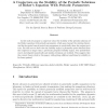 A conjecture on the stability of the periodic solutions of Ricker's equation with periodic parameters