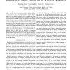 A Constant Approximation Algorithm for Interference Aware Broadcast in Wireless Networks
