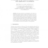 A Constraint on the Number of Distinct Vectors with Application to Localization