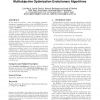 A cumulative evidential stopping criterion for multiobjective optimization evolutionary algorithms
