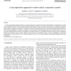 A decomposition approach to multi-vehicle cooperative control