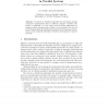 A Distributed Algorithm for Optimal Concurrent Communication and Load Balancing in Parallel Systems