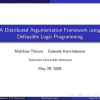 A Distributed Argumentation Framework using Defeasible Logic Programming