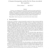 A domain decomposition method for the Oseen-viscoelastic flow equations