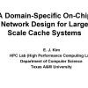 A Domain-Specific On-Chip Network Design for Large Scale Cache Systems