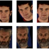 A face and gesture recognition system based on an active stereo sensor