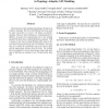 A Fast Narrow Band Method and Its Application in Topology-Adaptive 3-D Modeling