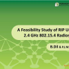 A feasibility study of RIP using 2.4 GHz 802.15.4 radios