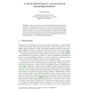 A Fixed-Point Property of Logic-Based Bargaining Solution
