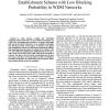 A Forward-Backward Optical Wavelength Path Establishment Scheme with Low Blocking Probability in WDM Networks