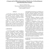 A framework for efficient inconsistency detection in a grid and Internet-scale distributed environment