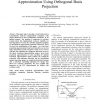 A Framework for Linear Transform Approximation Using Orthogonal Basis Projection