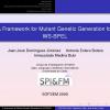 A Framework for Mutant Genetic Generation for WS-BPEL