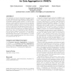 A fundamental scalability criterion for data aggregation in VANETs
