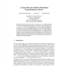 A Game-Theoretic Model for Distributed Programming by Contract