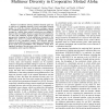 A Game Theoretic Solution for Exploiting Multiuser Diversity in Cooperative Slotted Aloha