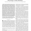 A general framework for adaptive processing of data structures