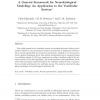 A general framework for neurobiological modeling: an application to the vestibular system