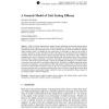 A General Model of Unit Testing Efficacy