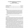 A Graphical Model for Evolutionary Optimization
