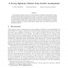A Group Signature Scheme from Lattice Assumptions