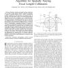 A Harmonic Decomposition Reconstruction Algorithm for Spatially-Varying Focal Length Collimators