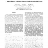 A High Performance Application Representation for Reconfigurable Systems