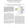 A High-Performance VLSI Architecture for Intra Prediction and Mode Decision in H.264/AVC Video Encoding